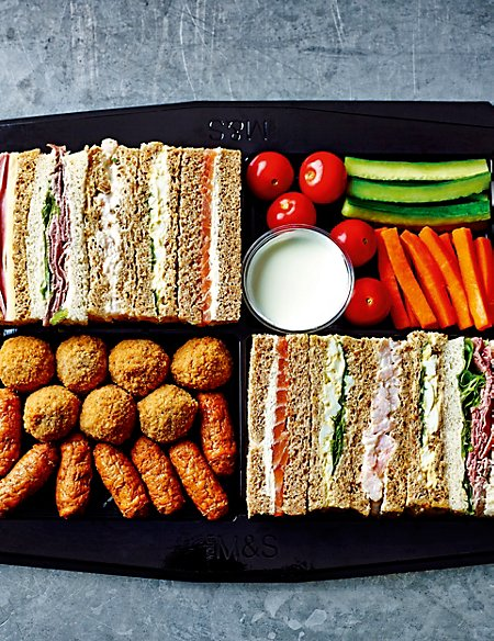 Classic Sandwich & Snack Selection Platter
