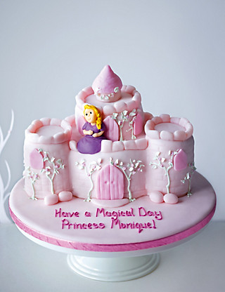 Princess Castle Cake Cakes