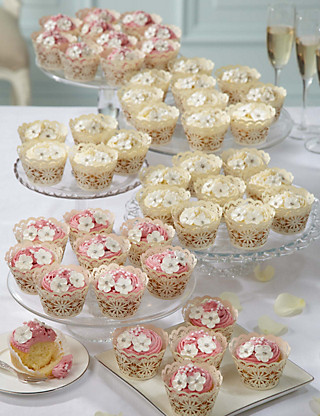 48 Assorted Large Cupcakes - Wedding Cakes