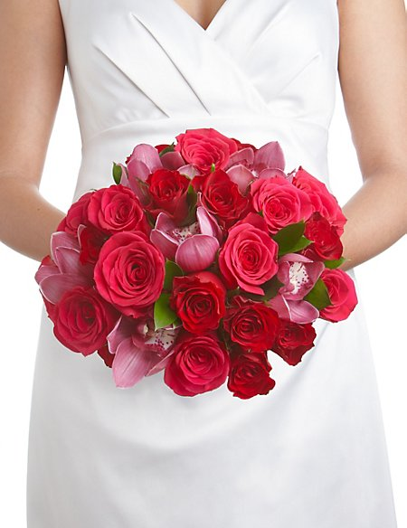 Orchid & Rose Collection - Brides Bouquet