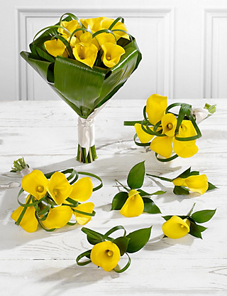 Yellow Calla Lily Wedding Flowers - Collection 2 Flowers