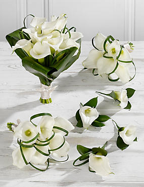 White Calla Lily Wedding Flowers - Collection 2