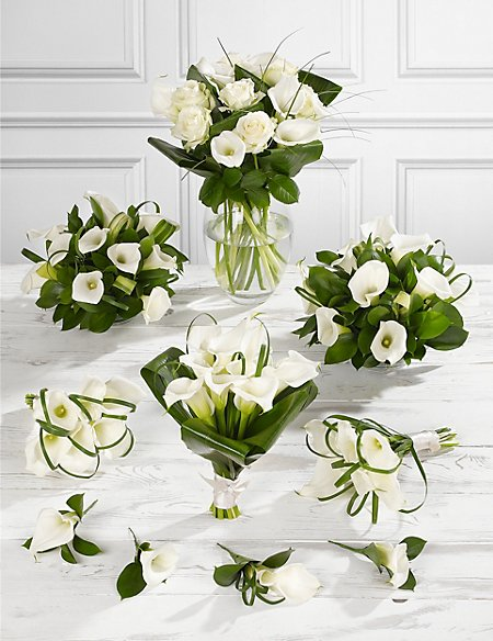 White Calla Lily Wedding Flowers - Collection 4 | M&S