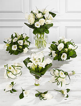 White Calla Lily Wedding Flowers - Collection 4