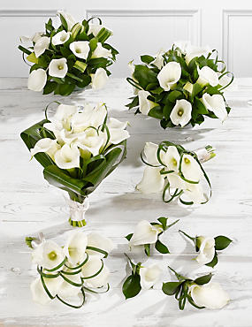 White Calla Lily Wedding Flowers - Collection 3