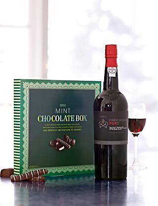 Port & Chocolate Mints Hampers