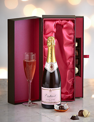 Rosè Champagne & Chocolate Luxury Gift Hampers