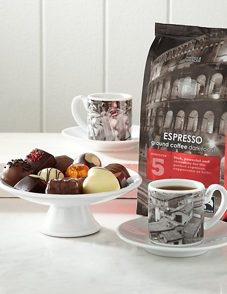 Italian Coffee Gift with Chocolates