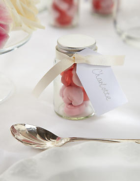 Create your Own Percy Piglets™ Wedding Favours with Cream Ribbons