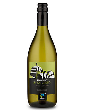 Fairtrade® Zebra View Pinot Grigio - Case of 6