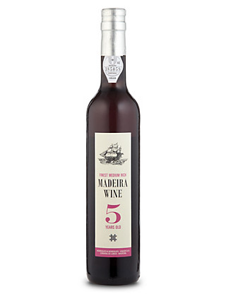 5 Year Old Finest Medium Rich Madeira - Case of 6 Wine