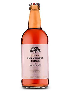 Devon Farmhouse Cider with Raspberry - Case of 20