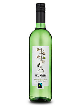 Fairtrade® Six Hats Sauvignon Blanc - Case of 6