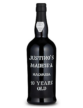 Justino's 10YOMadeira Malvasia - Single Bottle