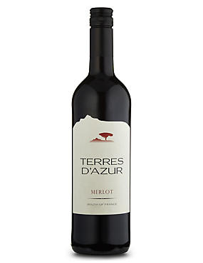 Terres D'Azur Merlot - Case of 6