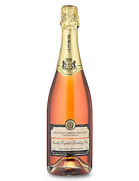 Halfpenny Rosé Sparkling Brut - Single Bottle