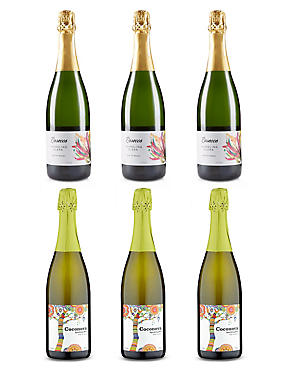 Brazilian Sparkling Showcase - Case of 6