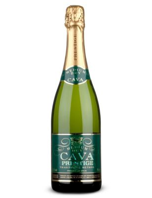 Prestige Medium-Dry Cava NV, Penedes, Spain