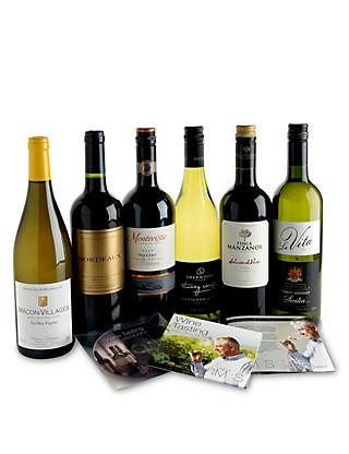 Wine Tasting Gift Box - 6 Wines, DVD & Guide Wine