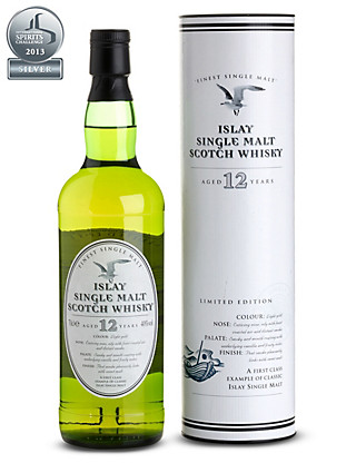 Islay 12 Year Old Single Malt Scotch Whisky - Single Bottle Wine