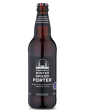 Greenwich Winter Spiced Porter - Case of 20