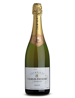 Charles Freminet Rosé NV Champagne - Case of 6 Wine