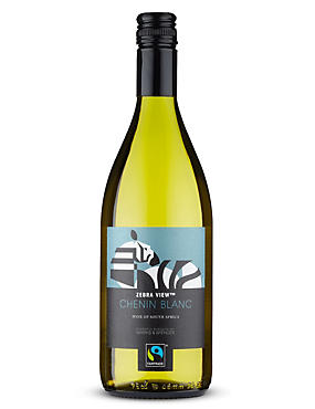 Fairtrade® Zebra View Chenin Blanc - Case of 6