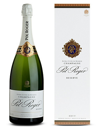 Pol Roger Brut Reserve NV Champagne - Single Bottle Magnum Wine