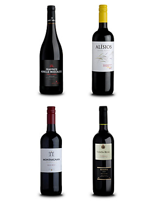 Around the World Reds - Case of 12 Wine