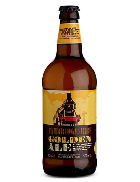 Cambridgeshire Golden Ale - Case of 20