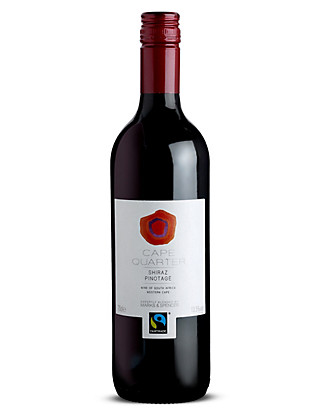 Cape Quarter Fairtrade Red - Case of 6 Wine