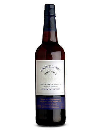 Medium Dry Amontillado Sherry - Case of 6 Wine