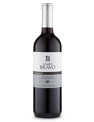 Campo Bravo Rioja Tempranillo - Case of 6 Wine