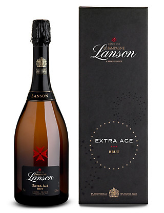 Lanson Extra Age Brut NV - Single Bottle Wine