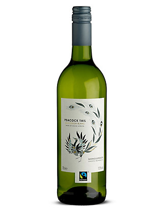 Fairtrade® Peacock Tail Sauvignon Blanc - Case of 6 Wine