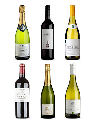 Premier Wedding Wines - Case of 6 Wine