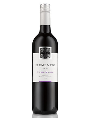 Elementos Shiraz Malbec - Case of 6 Wine