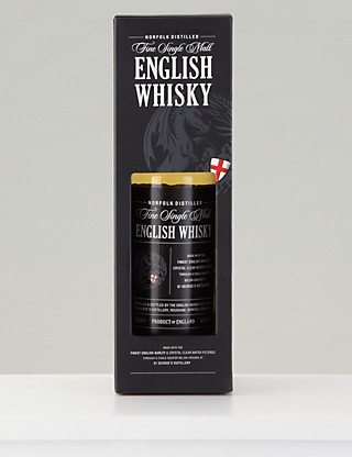 Fine Single Malt English Whisky - Single Bottle Wine