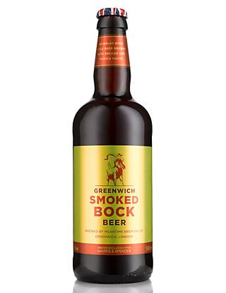 Greenwich Smoked Bock Beer - Case of 20 Wine