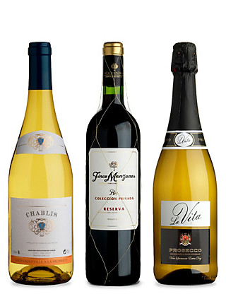 Wines for Entertaining at Home - Mixed Case of 6 Wine