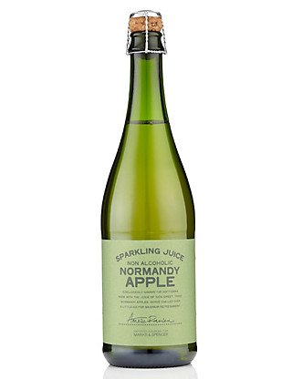 Sparkling Normandy Apple Juice - Case of 6 Wine