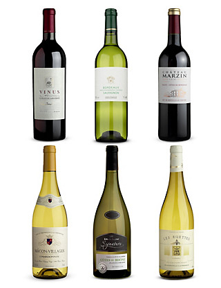 French Classics Mixed Case - Case of 6 Wine