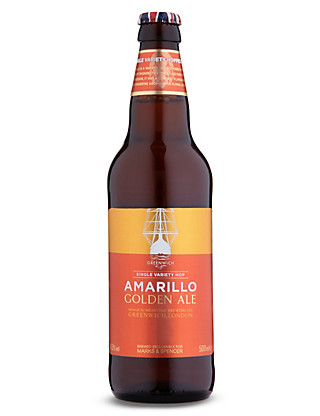 Greenwich Amarillo Golden Ale - Case of 20 Wine