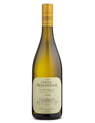 Chateau Moncontour Vouvray Demi-Sec - Case of 6 Wine