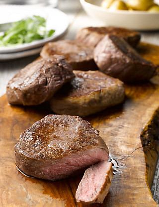 6 Aberdeen Angus Fillet Steaks Food