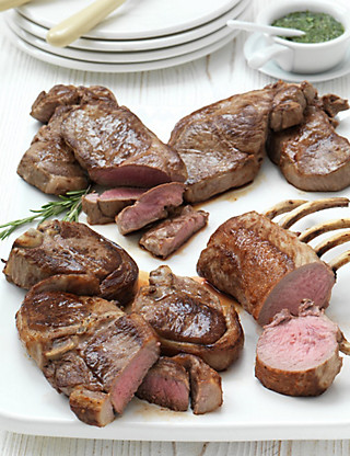 Organic Lamb Selection Food