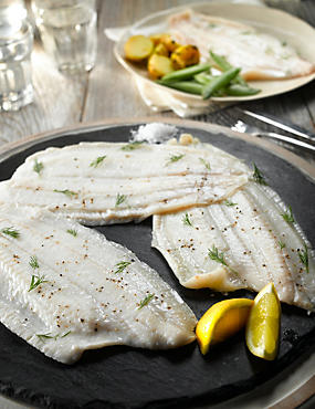 4 Lemon Sole Fillets