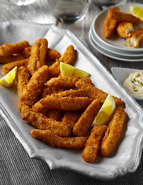 Breaded Lemon Sole Goujons