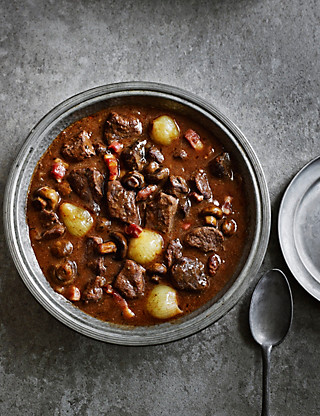 Beef Bourguignon Food