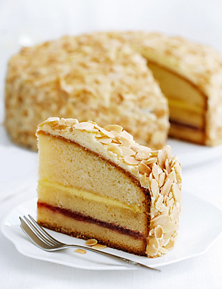 Triple Layer Sherry Trifle Cake Cakes